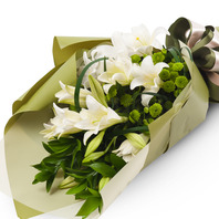 백합꽃다발